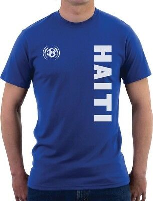 Haiti National Football Team Soccer Fans T-Shirt Gift - Soccer Team Gifts