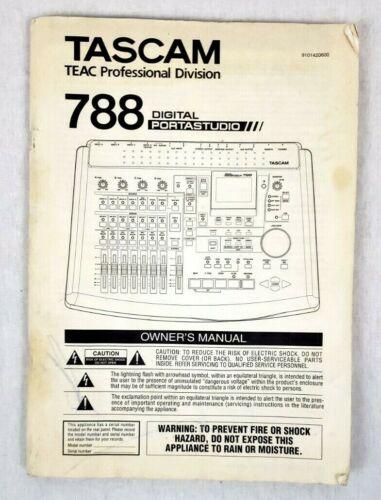 Tascam Teac 788 Digital Portastudio Owner