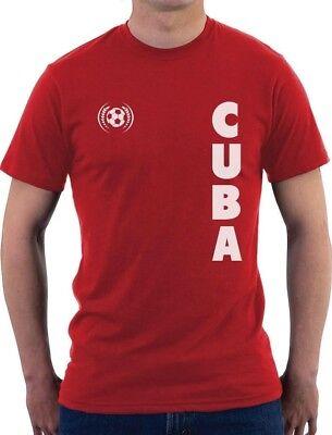 Cuba National Soccer Team Football Fans T-Shirt Gift - Soccer Team Gifts