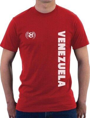 Venezuela National Soccer Team Football Fans T-Shirt Gift - Soccer Team Gifts