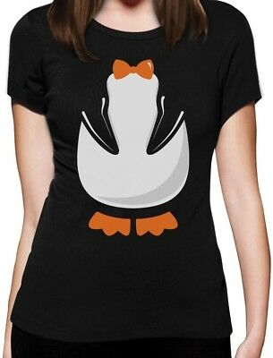 Penguin Halloween Easy Costume Women T-Shirt Gift Idea - Halloween Costume For Women Ideas