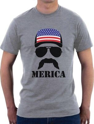 American Flag Cap hat Cool 4th of July Merica T-Shirt Gift Idea](Fourth Of July Shirt Ideas)