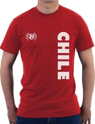Chile National Soccer Team Football Fans T-Shirt Gift - Soccer Team Gifts