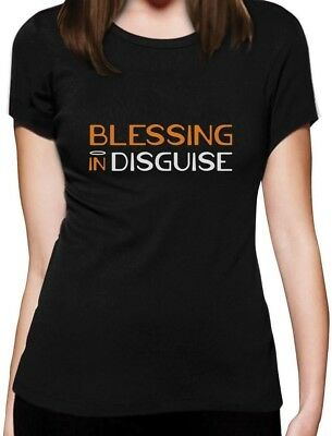 Blessing In Disguise Halloween Costume Women T-Shirt Funny - Friends In Halloween Costumes