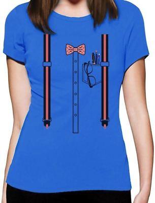 Nerd Geek Halloween Easy Costume Women T-Shirt Funny Gift](Geek Halloween Costume)