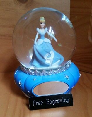 FREE ENGRAVING (PERSONALIZED) Things Remembered Cinderella Water (Snow) Globe](Personalized Snow Globes)