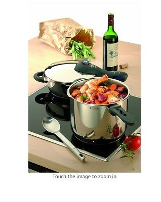 WMF Perfect Plus Pressure Cooker Set, 4.5 Qts and 8.5  made in Germany MSRP $525