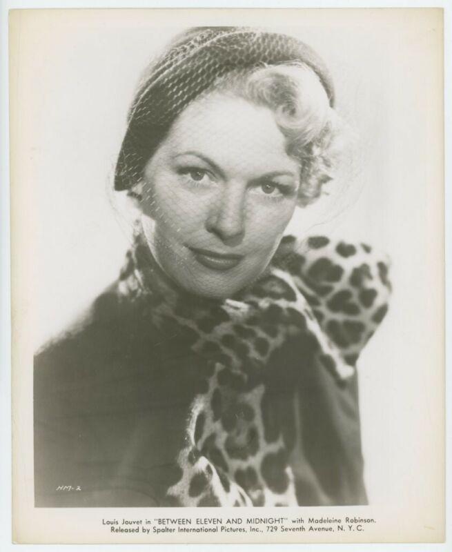 MADELEINE ROBINSON original movie photo 1950 BETWEEN ELEVEN AND MIDNIGHT