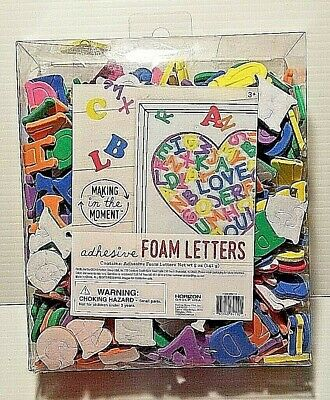 Adhesive Foam Letters School Art Project Children's Toy by HORIZON GROUP USA