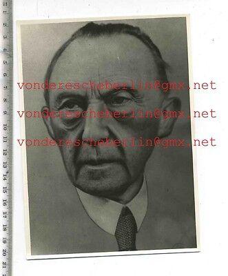 ORIGINAL PRESSEFOTO:  ADENAUER Foto einer Zeichnung - 50ger Jahre - VINTAGE