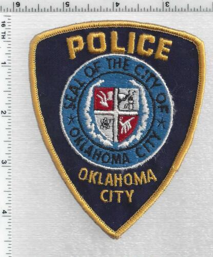 Oklahoma City Police (Oklahoma) 1st Issue Shoulder Patch
