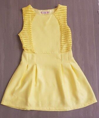 - Gelb Sexy Kleid