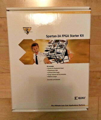 Spartan-3a Fpga Starter Kit Xilinx Hw-spar3a-sk-uni-g Devel Board Brand New Ww