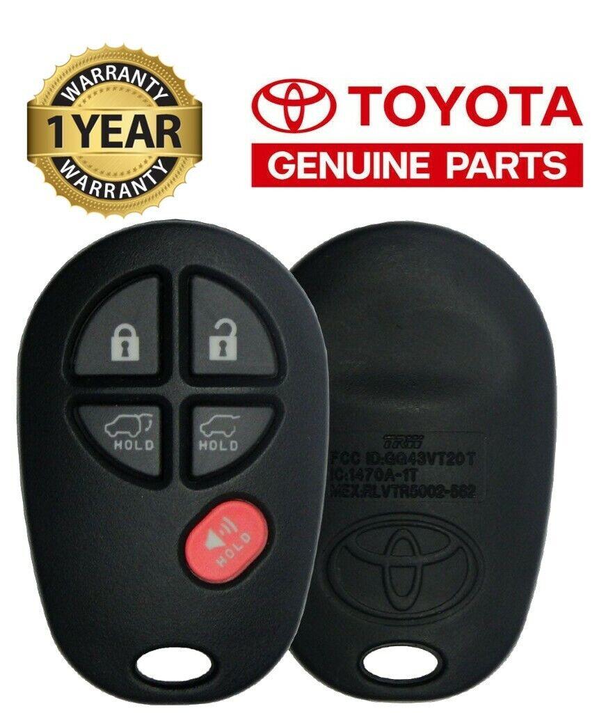 TOYOTA OEM 11-17 Tundra Keyless Entry Transmitter 89742-AE01