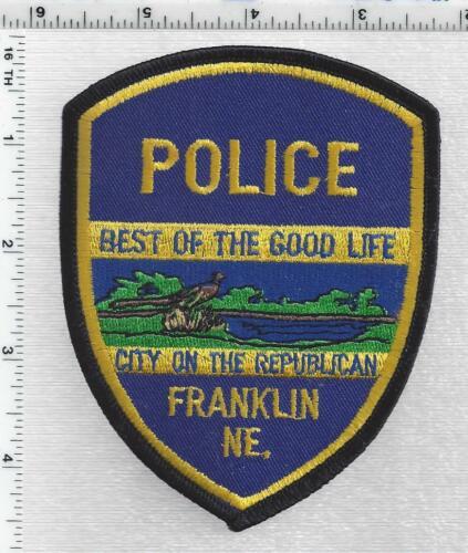 Franklin Police (Nebraska) 1st Issue Shoulder Patch