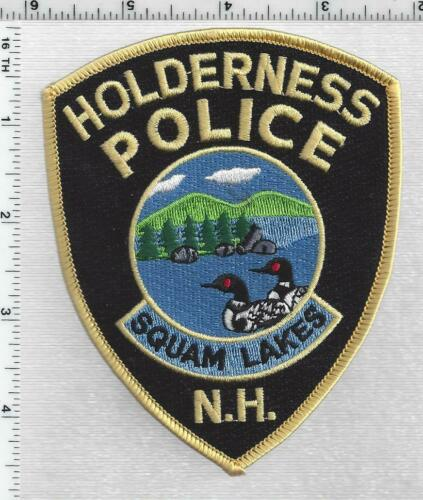 Holderness Police (New Hampshire) 2nd Issue Shoulder Patch
