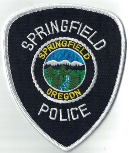 Springfield Police OREGON OR Police patch