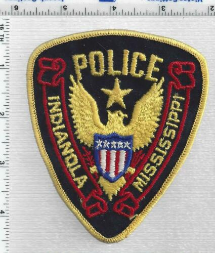 Indianola Police (Mississippi) 1st Issue Shoulder Patch