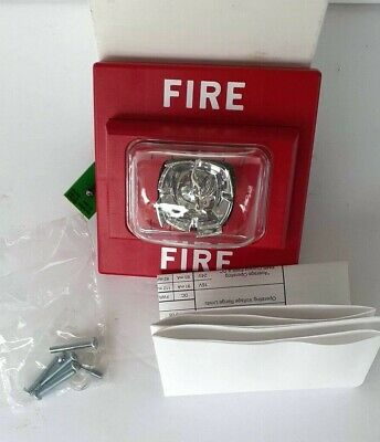 New Faraday 2700b -e-14-24-dc Wall Mount Stand Alone Strobe Fire Alarm Red