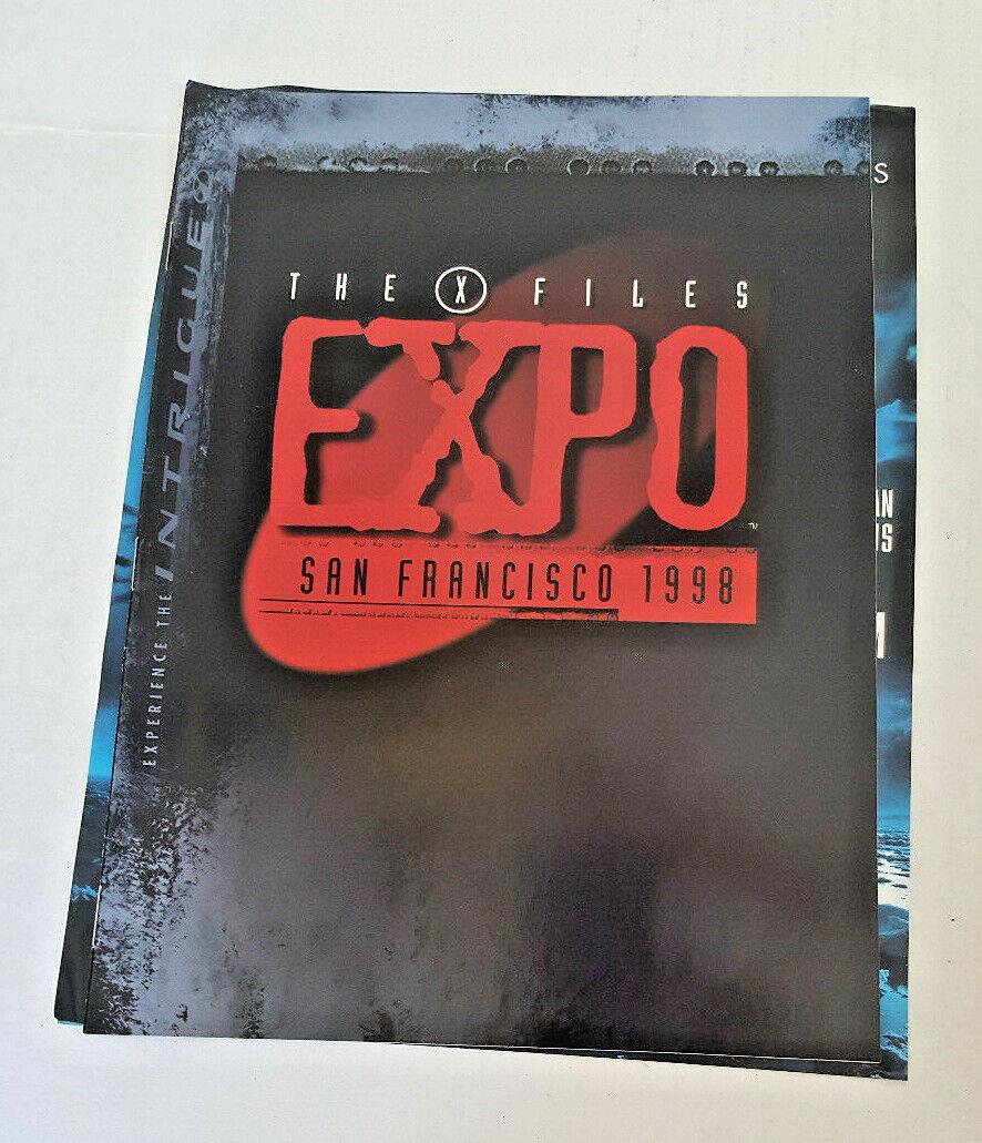 The X-FILES Expo Tour Evidence Bag San Francisco 1998 Bag & Book