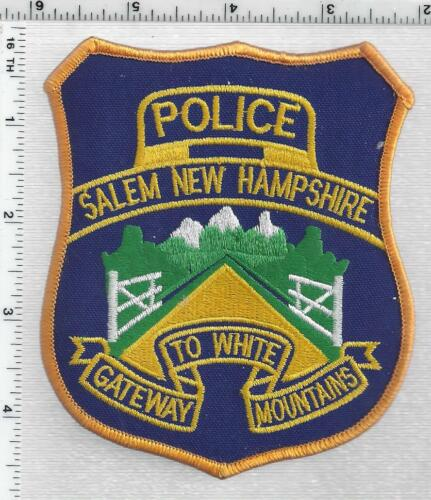 Salem Police (New Hampshire) 2nd Issue Shoulder Patch
