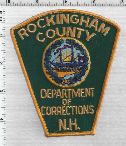 Rockingham County Dept of Corrections (New Hampshire) 1st Issue Shoulder Patch