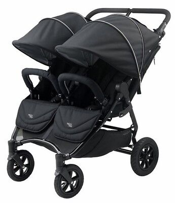 Valco Baby Neo Twin Lightweight All Terrain Twin Baby Double Stroller Black NEW for sale  Whittier