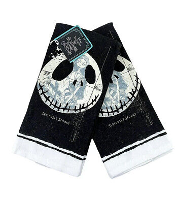 Disney The Nightmare Before Christmas Seriously Spooky 2 Pack Kitchen Towel Jack