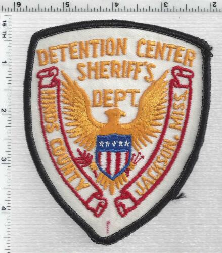 Hinds County Sheriff Detention (Mississippi) 1st Issue Shoulder Patch