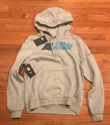 Nike Women's Carolina Panthers NFL Club Hoodie Medium M NWT $55 (Nfl Panthers Hoodie)