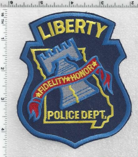 Liberty Police (Missouri) 3rd Issue Shoulder Patch