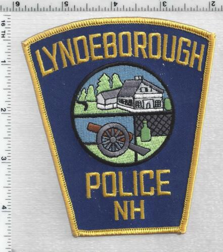 Lyndeborough Police (New Hampshire) 1st Issue Shoulder Patch