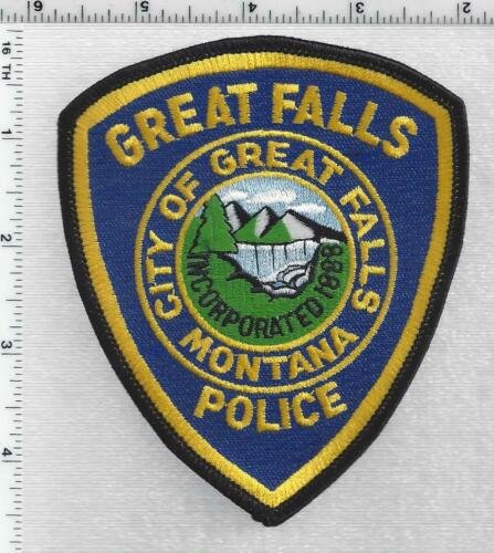Great Falls Police (Montana) 3rd Issue Shoulder Patch