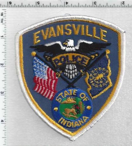 Evansville Police (Indiana) 3rd Issue Shoulder Patch