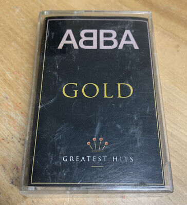 Gold: Greatest Hits by ABBA (Cassette)RARE - GD (CT1)