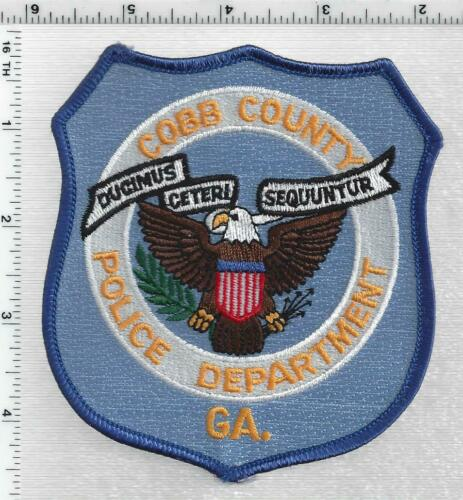 Cobb County Police (Georgia) 2nd Issue Shoulder Patch