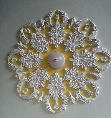 Plaster ceiling rose/design,Art Deco Style and handmade