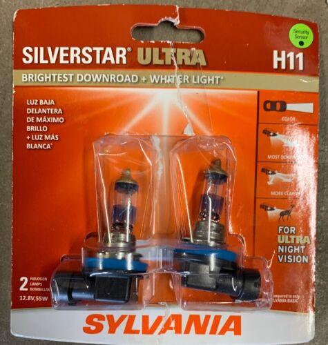 Sylvania SilverStar Ultra 9003 Halogen Dual Pack Brand New//Sealed!!
