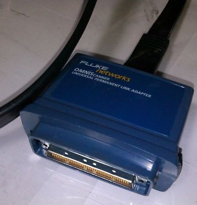Fluke Networks Omniscanner Universal Permanent Link Adapter Without Any Module