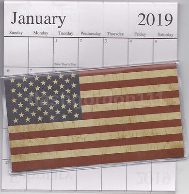 1 2018-2019 Americana Flag 2 Two Year Planner 2018-19 Monthly Pocket Calendar