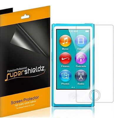 3X Ultra Clear LCD Screen Protector Guard Shield for iPod Nano 7 7th Generation