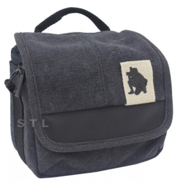 Canvas Shoulder Waist Camera Case Bag For SAMSUNG Smart camera NX1100, NX mini