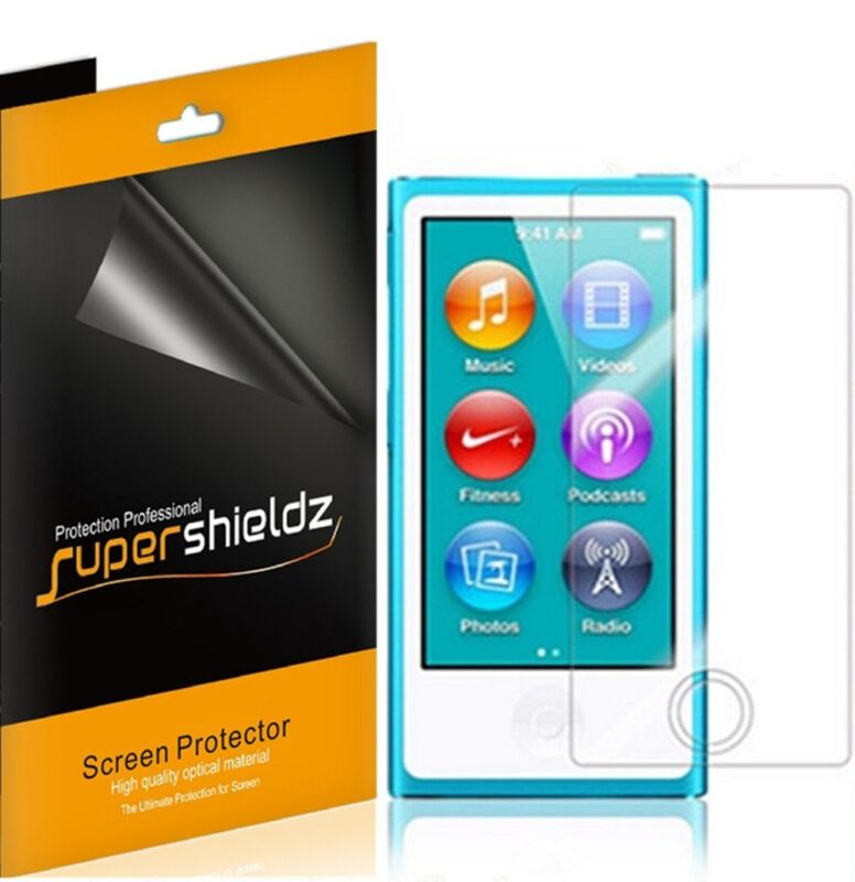 6X Supershieldz Clear Screen Protector Saver for iPod Nano 8 8th Generation
