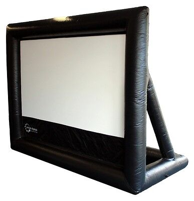 3 metre inflatable movie screen with wrinkle free viewing area