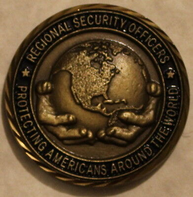Department Of State Regional Security Officers Challenge Coin