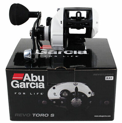 ABU GARCIA REVO TORO S REVOT2S60 5.3:1 RIGHT HAND BAIT CAST REEL #1365390