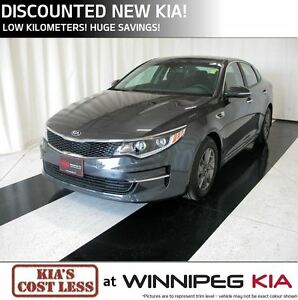 2016 Kia Optima LX ECO Turbo *Discounted New Kia!*