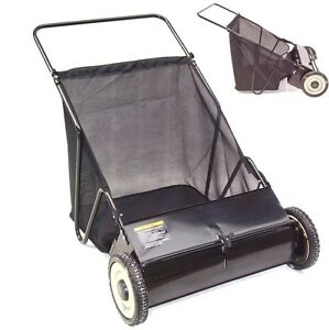 Rasenkehrmaschine Laubkehrmaschine Rasenkehrer Laubkehrer 65 cm  55145