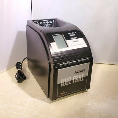 Royal Sovereign Fast Sort Automatic Coin Sorter Counter Model Fs-4da - Tested