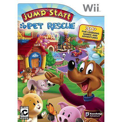 Jumpstart Pet Rescue Nintendo Wii Sealed